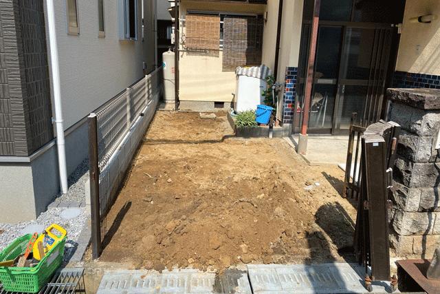 K様邸駐車場整備工事